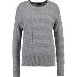Swetry klasyczne damskie: Sisley Sweter light grey