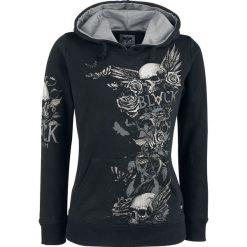 Bluzy damskie: Black Premium by EMP Promises Bluza z kapturem damska czarny