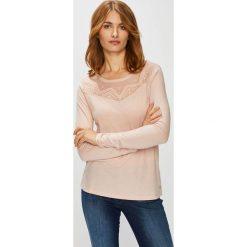 Roxy - Bluzka. Szare bluzki asymetryczne Roxy, l, z bawełny, casualowe, z okrągłym kołnierzem. W wyprzedaży za 149,90 zł.