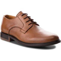 Półbuty męskie: Półbuty TOMMY HILFIGER - Color Block Heel Leather Shoe FM0FM01616 Cognac 606