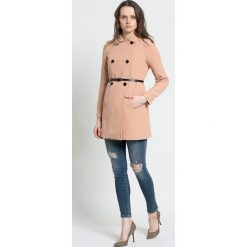 Płaszcze damskie pastelowe: Vero Moda – Płaszcz