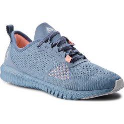 Buty Reebok - Flexagon CN2604 Blue/Grey/Pink. Niebieskie buty do fitnessu damskie Reebok, z materiału. W wyprzedaży za 279,00 zł.