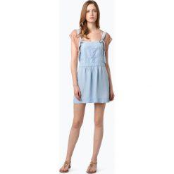 Sukienki hiszpanki: Review – Damska jeansowa sukienka z szelkami, niebieski