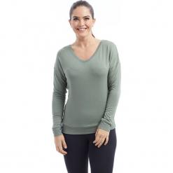 """Koszulka """"Mira"""" w kolorze khaki. Brązowe bluzki asymetryczne BALANCE COLLECTION, s, z długim rękawem. W wyprzedaży za 86,95 zł."""
