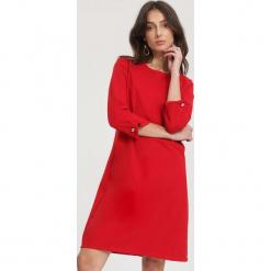 Czerwona Sukienka Same Old Love. Czerwone sukienki hiszpanki other, l, midi, oversize. Za 79,99 zł.