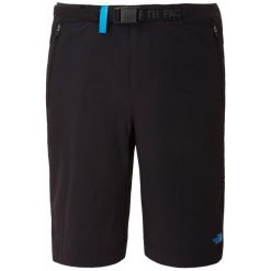 The North Face Spodenki Turystyczne W Speedlight Short Tnf Black/Quill Blue 6. Czarne spodenki sportowe męskie marki The North Face, z materiału, sportowe. W wyprzedaży za 179,00 zł.
