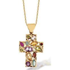 Łańcuszki damskie: PROMOCJA Złoty Wisiorek - złoto żółte 333