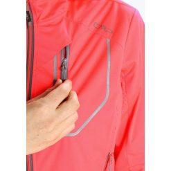 CMP WOMAN FIX HOOD JACKET Kurtka Outdoor red fluo. Czerwone kurtki damskie turystyczne marki CMP, z materiału. Za 339,00 zł.