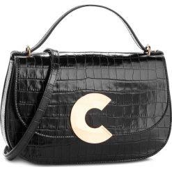 Torebka COCCINELLE - CK3 Craquante Croco E1 CK3 12 02 01  Noir/Noir 001. Brązowe torebki klasyczne damskie marki Coccinelle, ze skóry. W wyprzedaży za 1569,00 zł.