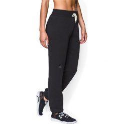 Spodnie sportowe damskie: Under Armour Spodnie dresowe damskie Rival Cotton Under Armour Black r. S (1264398001)