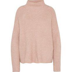 """Swetry klasyczne damskie: Sweter """"Grip"""" w kolorze jasnoróżowym"""