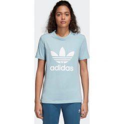Koszulka adidas Trefoil (CV9891). Szare bluzki damskie Adidas, z bawełny. Za 58,50 zł.