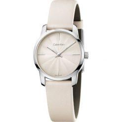 ZEGAREK CALVIN KLEIN CITY LADY K2G231XH. Białe zegarki damskie Calvin Klein, szklane. Za 739,00 zł.