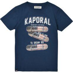 T-shirty chłopięce z krótkim rękawem: T-shirt z okrągłym dekoltem i nadrukiem skates 10-16 lat