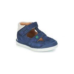 Sandały Dziecko  Kickers  GOODSPEED. Niebieskie sandały chłopięce Kickers. Za 239,20 zł.