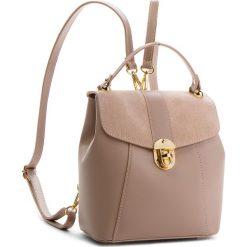 Plecak CREOLE - K10419  Pudrowy Róż. Czerwone plecaki damskie Creole, ze skóry, eleganckie. W wyprzedaży za 189,00 zł.
