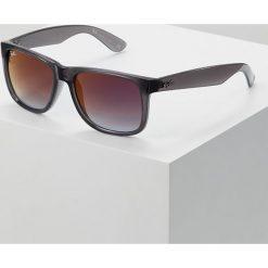 RayBan Okulary przeciwsłoneczne trasparent grey/grey gradient/mirror red. Szare okulary przeciwsłoneczne męskie aviatory Ray-Ban. Za 599,00 zł.