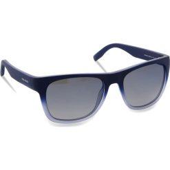 Okulary przeciwsłoneczne BOSS - 0249/S Qwoblue. Niebieskie okulary przeciwsłoneczne męskie aviatory Boss, z tworzywa sztucznego. W wyprzedaży za 429,00 zł.