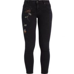Dorothy Perkins BEADED DARCY Jeans Skinny Fit black. Czarne jeansy damskie marki Dorothy Perkins. W wyprzedaży za 199,20 zł.