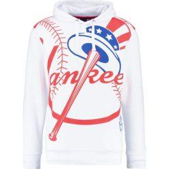 Bejsbolówki męskie: Majestic Athletic BATER Bluza z kapturem white