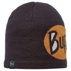 Czapki męskie: Buff Czapka Knitted & Polar Logo Black Czarny