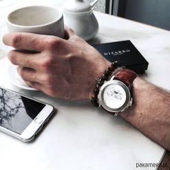 Biżuteria i zegarki: Bransoletka męska CLASSY
