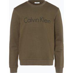 Bluzy męskie: Calvin Klein - Męska bluza nierozpinana, zielony