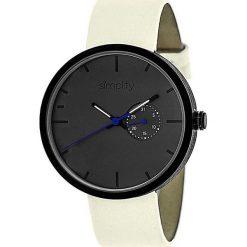 """Zegarki męskie: Zegarek kwarcowy """"the 3900"""" w kolorze kremowo-czarnym"""