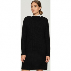 Swetrowa sukienka - Czarny. Czarne sukienki marki Sinsay, l. Za 79,99 zł.