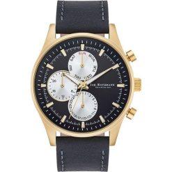 """Biżuteria i zegarki męskie: Zegarek kwarcowy """"Ansgar"""" w kolorze czarno-złotym"""