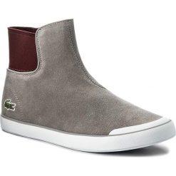 Botki LACOSTE - Lancelle Chelsea 317 1 Caw 7-34CAW0032007 Grey. Szare buty zimowe damskie Lacoste, z materiału. W wyprzedaży za 319,00 zł.