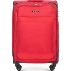 Walizka średnia 56-3S-582-30. Czarne walizki marki Wittchen, z gumy, duże. Za 379,00 zł.