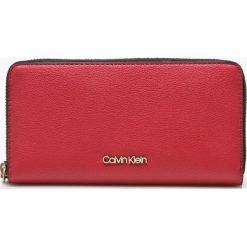 Calvin Klein - Portfel. Różowe portfele damskie Calvin Klein, z materiału. Za 269,90 zł.