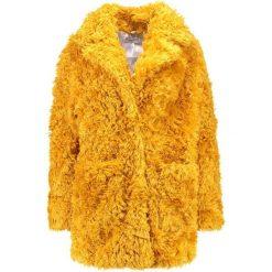 Płaszcze damskie pastelowe: Glamorous Płaszcz zimowy mustard teddy