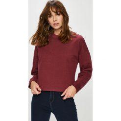 Lee - Bluza. Brązowe bluzy damskie Lee, l, z bawełny, bez kaptura. Za 239,90 zł.