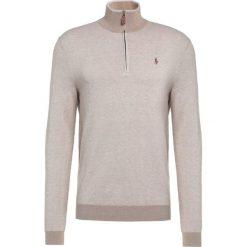 Polo Ralph Lauren Sweter oatmeal tuck. Brązowe swetry klasyczne męskie marki Polo Ralph Lauren, m, z bawełny, polo. W wyprzedaży za 401,40 zł.