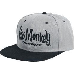 Gas Monkey Garage Logo Czapka Snapback szary/czarny. Czarne czapki z daszkiem damskie Gas Monkey Garage. Za 99,90 zł.
