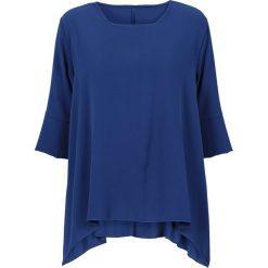 Bluzki damskie: Bluzka z dłuższymi bokami bonprix niebieski