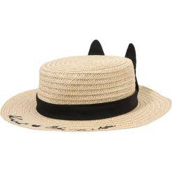 KARL LAGERFELD Kapelusz light yellow. Żółte kapelusze damskie KARL LAGERFELD, z materiału. Za 229,00 zł.