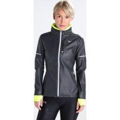 Mizuno STATIC Kurtka do biegania black/safety yellow. Czarne kurtki damskie do biegania Mizuno, s, z materiału. W wyprzedaży za 503,20 zł.