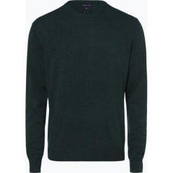 Andrew James - Sweter męski z dodatkiem kaszmiru, zielony. Zielone swetry klasyczne męskie Andrew James, m, z kaszmiru. Za 229,95 zł.