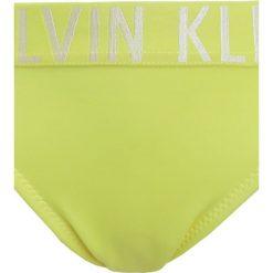 Stroje dwuczęściowe dziewczęce: Calvin Klein Swimwear INTENSE POWER TRIANGLE SET Bikini lemon tonic
