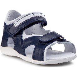Sandały KORNECKI - 03708 N/Kobalt/S. Niebieskie sandały męskie skórzane marki Kornecki. Za 129,00 zł.