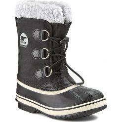 Buty zimowe chłopięce: Śniegowce SOREL – Yoot Pac Nylon NY1879-010 Black