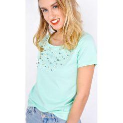 Bluzki asymetryczne: Bluzeczka z perełkami z przodu