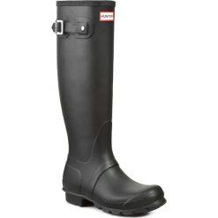 Kalosze HUNTER - Womens Org Tall WFT1000RMA Black. Czarne buty zimowe damskie Hunter, z kauczuku. Za 549,00 zł.