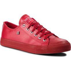 Trampki BIG STAR - V174348 Red. Czerwone trampki męskie BIG STAR, z gumy. Za 99,00 zł.