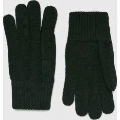 Wrangler - Rękawiczki. Czarne rękawiczki męskie Wrangler, z dzianiny. Za 79,90 zł.