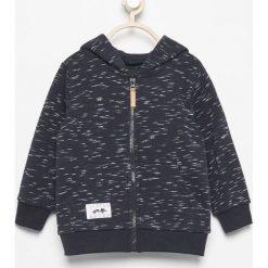 Bluza z kapturem - Granatowy. Niebieskie bluzy niemowlęce marki Reserved, z kapturem. W wyprzedaży za 24,99 zł.