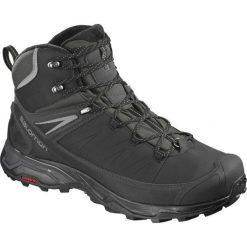 Salomon Buty Męskie X Ultra Mid Winter Cs Wp Black/Phantom/Quiet Shade 43.3. Czarne buty do biegania męskie marki Salomon, na zimę. Za 629,00 zł.